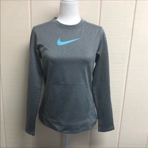 Nike Golf Sweatshirt Dri-fit Gray Women's Small